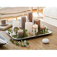 Ароматические свечи создают романтическую обстановку