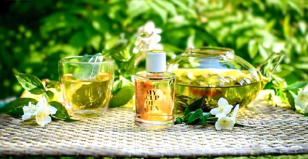 Бодрящие аккорды зеленого чая в мире парфюмерии