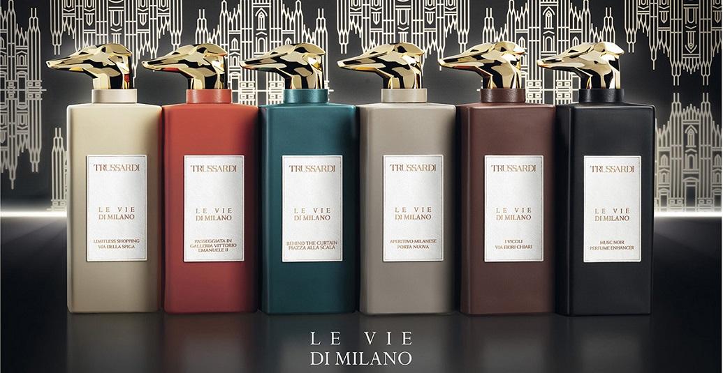 Невероятная коллекция Le Vie di Milano Trussardi – ароматы с итальянским акцентом