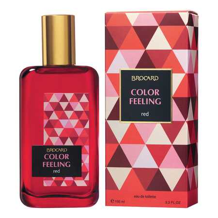 Brocard Color Feeling Red