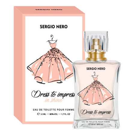 Sergio Nero Dress To Impress In Shine